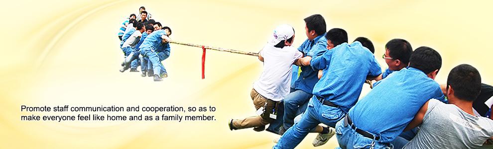 增进员工交换及合作,让每个人在这调和如家的家庭中欢愉生长